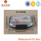 Os lados dobro claros Waterproof a caixa da mosca