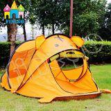 La tigre piegante della cupola della famiglia dei bambini scherza la tenda del playhouse del Tipi del gioco