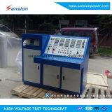 Tecla do equipamento de teste do transformador