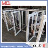Окно Casement PVC верхней ранга энергосберегающее в Китае