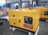 Generator In drie stadia 10kVA van de Dieselmotor van de enige Fase de Lucht Gekoelde