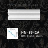 Tête de corniche de polyuréthane moulant la corniche Hn-8542A d'unité centrale