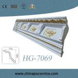 Cornice decorativo da coroa do poliuretano que molda para o teto