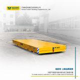 16 la tonne faible hauteur chariot de transfert de véhicules de manutention de fret de l'entrepôt