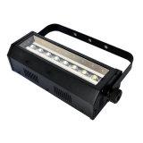 Lumière fraîche de signal d'échantillonnage du blanc DEL d'ÉPI de l'intense luminosité 8PCS 200W de disco de la barre KTV