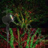 Rg beweglicher Leuchtkäfer-Garten-Laser, der die Farbe verschiebt Laserlicht ausstrahlt