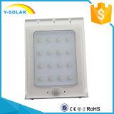 16 LED 태양 에너지 운동 측정기 LED 램프 옥외 방수 SL1-35-2