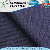 Tessuto della nervatura dello Spandex tinto filato di qualità superiore 2*2 di Changzhou