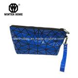 le sac 2017sky cosmétique en plastique bleu, composent le sac