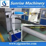 Linha de produção de extrusão de tubos PE HDPE com impressora a laser