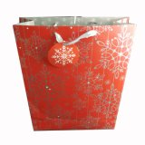 Bolsas de papel de Weddeing de los bolsos de compras del papel de imprenta del día de fiesta