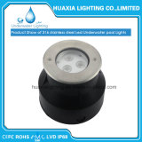 Indicatore luminoso subacqueo messo del raggruppamento dell'acciaio inossidabile LED