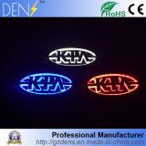 Insigne Auto LED 5D KIA arrière avec éclairage LED
