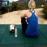 Terrain de jeux de plein air de haute qualité de tuiles de plancher de caoutchouc