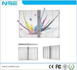 P10 Nse tela LED transparente Fase Visor a cores