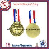 スポーツの金属メダル