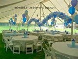 Sconto tenda poco costosa bianca e libera di Saled caldo di 10% del PVC grande di cerimonia nuziale di eventi