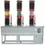 Openlucht High Voltage Vacuum Circuit Breaker voor Zw7-40.5