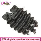 工場バージンの毛の織り方の若い女の子の毛