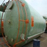 タンク容器のガラス繊維強化プラスチックFRP GRPの貯蔵タンク