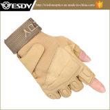 Caza ESDY medio dedo guantes Senderismo Clyling Airsoft