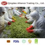 Haricots de soja d'IQF avec la qualité