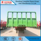 3 de Semi Aanhangwagen van de Vrachtwagen van Transportion van de Lading van de Zijgevel van de as