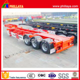 Skeletal 40FT Container Truck Chassis para Semirremolque
