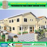 Casa prefabricada de dos pisos modificada para requisitos particulares nivel incombustible certificada Ce A1