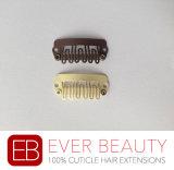 Grampos para a ferramenta de extensão do cabelo humano com melhor qualidade