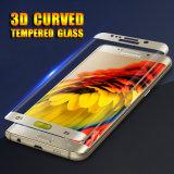 3D側面接着剤のSamsung S6の端のための熱い曲がる緩和されたガラススクリーンの保護装置