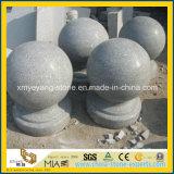 Esfera de pedra de granito Natrual / carro pare de pedra para caminho de acesso