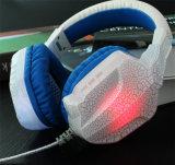 Гц-128 красочные ПК и игровых стерео гарнитура с микрофоном светодиодный индикатор
