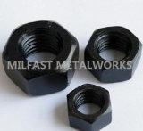 DIN 6915 10 HV Porca estruturais com acabamento em preto