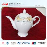 Costomized nouveau style de pot de thé en porcelaine pour usage à domicile