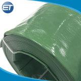De polyester Versterkte Slang van de Waterpijp van pvc Layflat met de Aangepaste Kleur van de Grootte