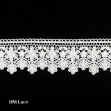 カラーおよびホーム織物のCrotched刺繍のスイスのレースカラーL175のための刺繍のレースファブリック