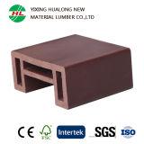 Anti-UV WPC barandillas de madera de plástico compuesto accesorio (HLM69)