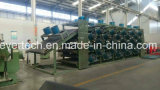 China-preiswerter Gummiblatt Stapel-weg abkühlende Zeile Gummi-Maschine