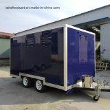 Boa qualidade de alimentos da China Mobile Consession carrinho de reboque atrelado alimentar
