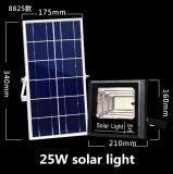 luzes de inundação pstas solares recarregáveis portáteis ao ar livre do diodo emissor de luz 25W IP67