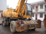 Escavatore utilizzato della rotella della Hyundai 210W