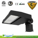 75W LED Shoebox 거리 도로 주차 지역 LED 옥외 빛