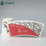 Hztl a imprimé le PE enduit par pain de ventilateur de tasse de papier pour la tasse 001