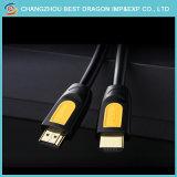 5m позолоченные нейлоновой сетки оплеткой 1,4 В кабель HDMI для HDTV