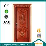 内部ドアのための木製のパネル・ドアの純木フレーム
