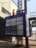 頻度インバーター材料および乗客の構築の建物の起重機