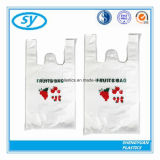 Hot Sale en plastique T-Shirt Sacs durables pour le shopping