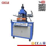 L'estampillage hydraulique automatique feuille chaude pour le cuir de la machine