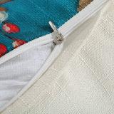 زخرفيّة وسادة تغطية [ديجتل] يطبع قطر [لينن] [ثروو بيلّوو] حالة